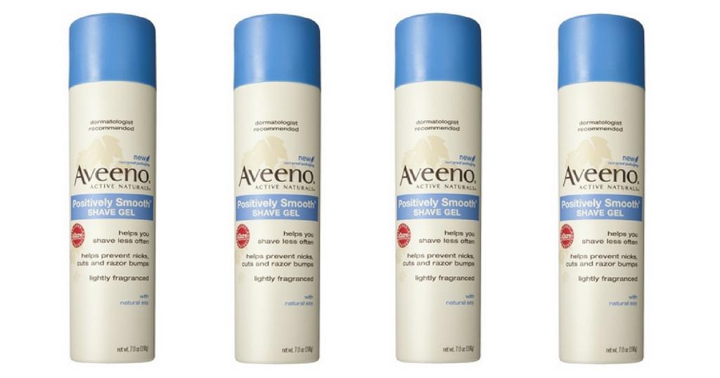 Free Aveeno Shave Gel!