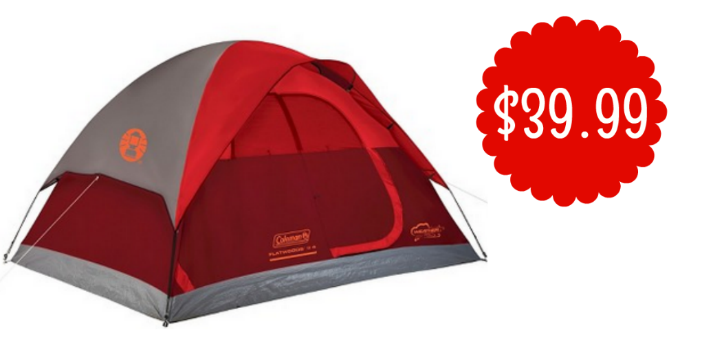 If youu0027re thinking about doing some c&ing this summer donu0027t miss out on this deal at Target to save on a tent. You can get the Coleman Flatwoods II 4 ...  sc 1 st  Southern Savers & Coleman Flatwoods II 4 Person Tent $39.99 :: Southern Savers