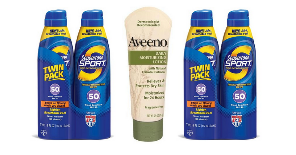 coppertone and aveeno coupons
