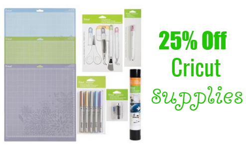Looking for amazing deals on Bulk Cricut Supplies? We have you taken care of! Shop Mats, Vinyl, Iron-On, Blades, and more!