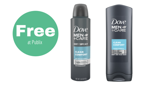 Free Dove Men+Care Items at Publix!!