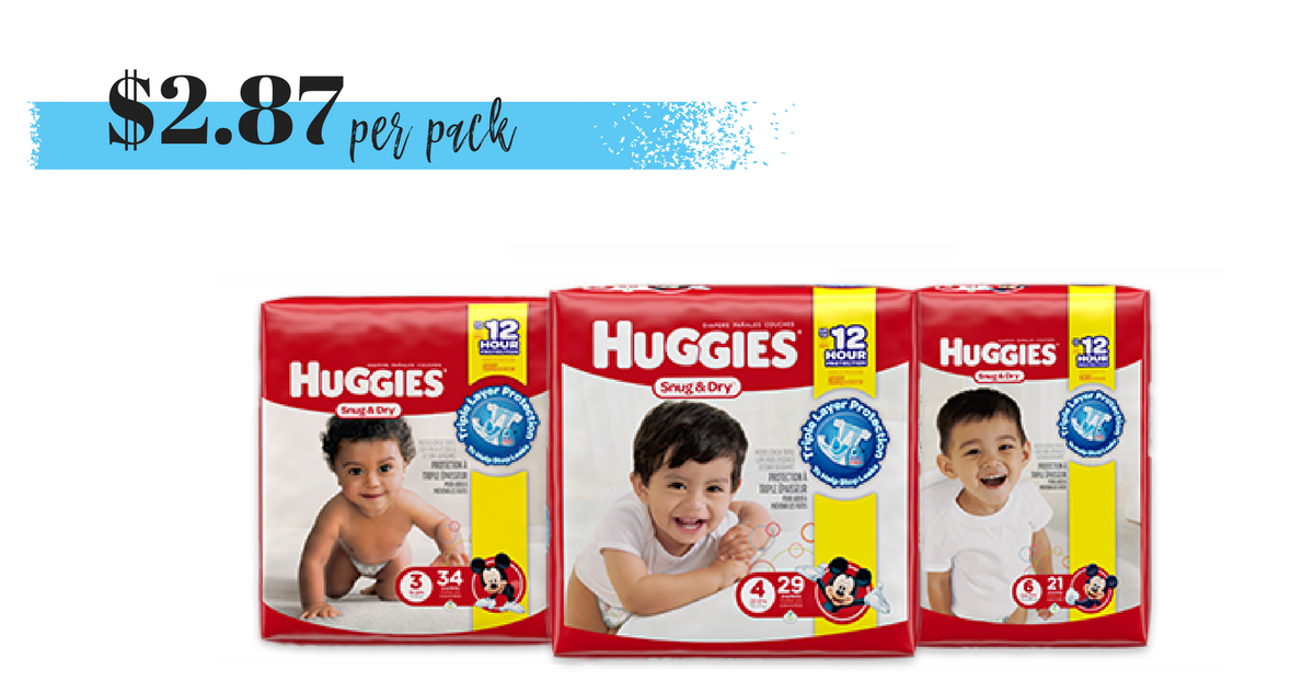 picture regarding Printable Coupon $3 Off Pull Ups known as $3 off Huggies Coupon $2.87 for each Pack! :: Southern Savers
