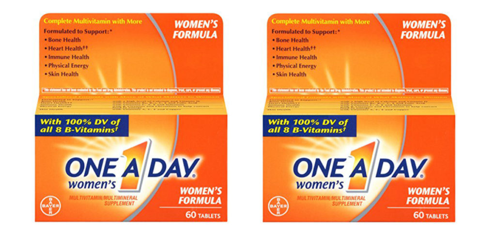 $1 off one One A Day Adult Multivitamin Product. Never miss another coupon. Be the first to learn about new coupons and deals for popular brands like One A Day with the Coupon Sherpa .