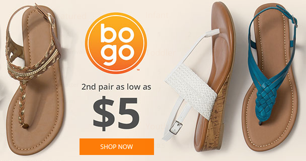 Pair of shoes coupon code