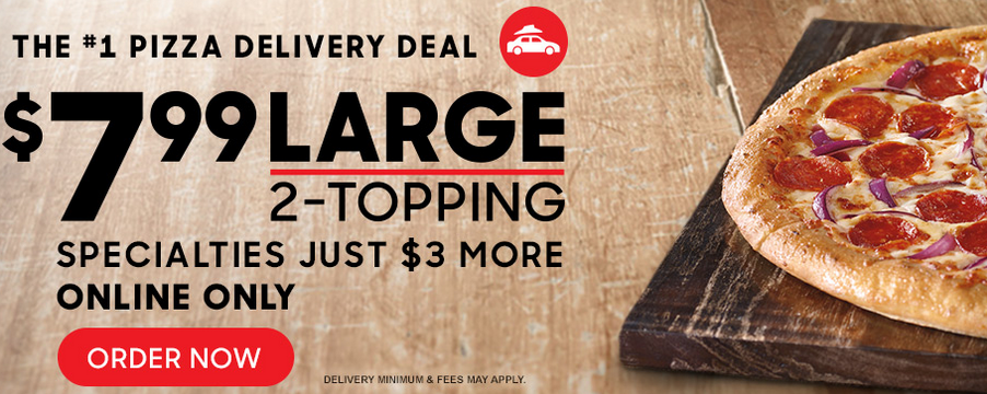 Pizza Hut Deal 7 99 Large 2 Topping Pizza Southern Savers