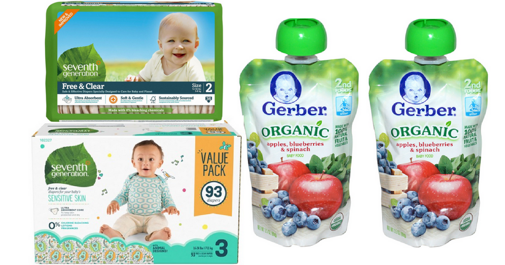 seventh generation and gerber