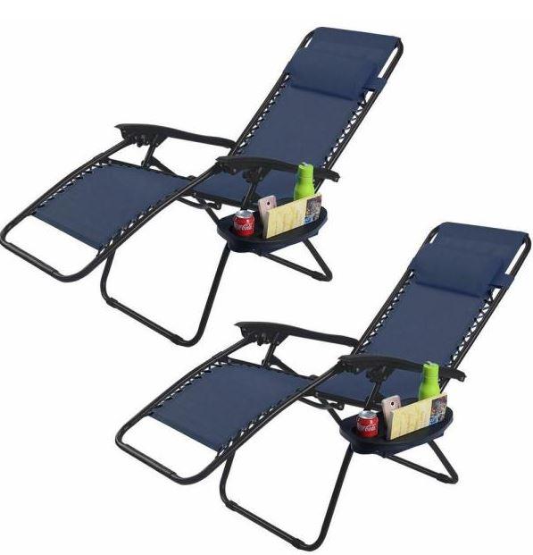 two pack zero gravity chairs