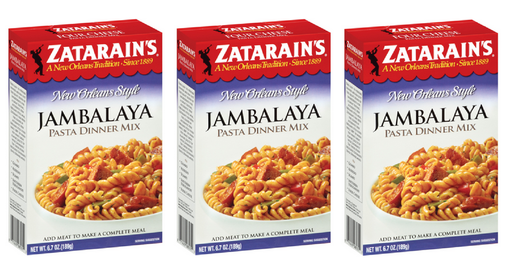 zatarain's dinner mixes