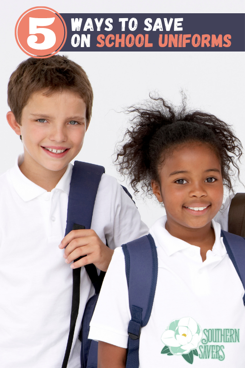 If you need to get new uniforms on a budget, here are 5 ways to save on school uniforms. Get everything you need at a fraction of the price!