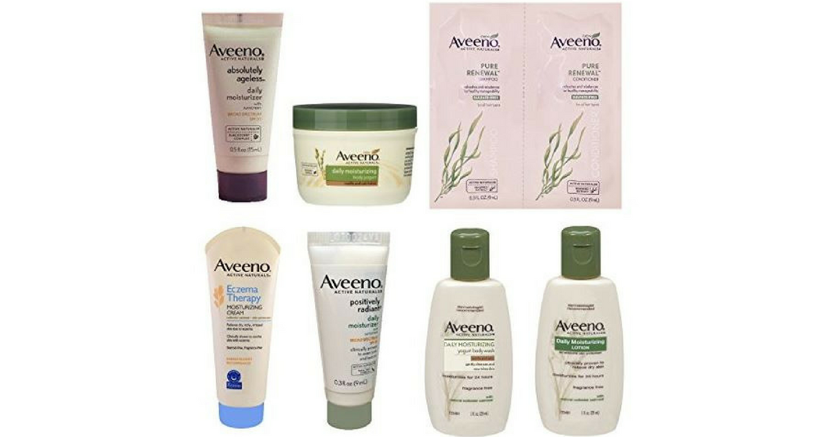 Aveeno Sample Box | Free After Credit