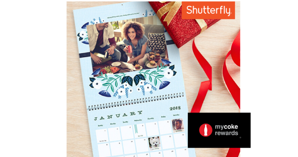 My Coke Rewards Free Shutterfly Wall Calendar Southern Savers