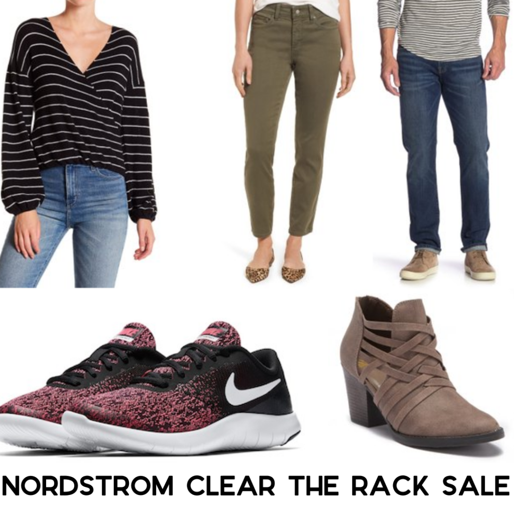 c9302342977 The Nordstorm Rack clear the rack event is back! You can get an extra 25% off  clearance items. Prices are as marked online.