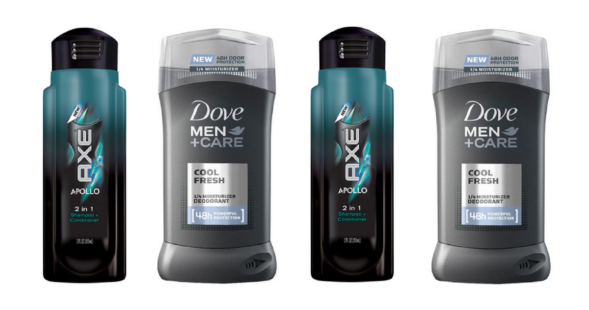 axe and dove coupons