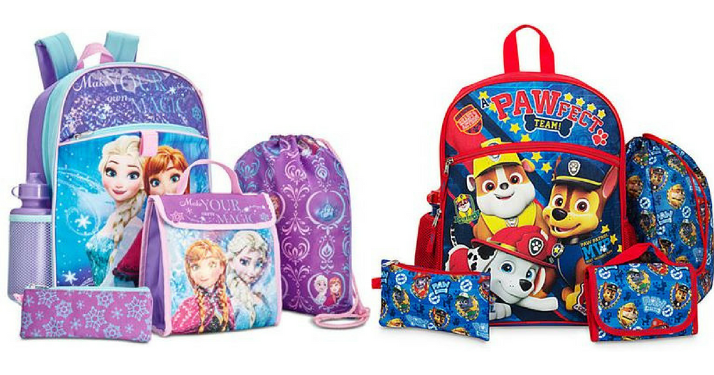 Macys Kids Backpack Deals | 5-Piece Sets for $15 Shipped ...