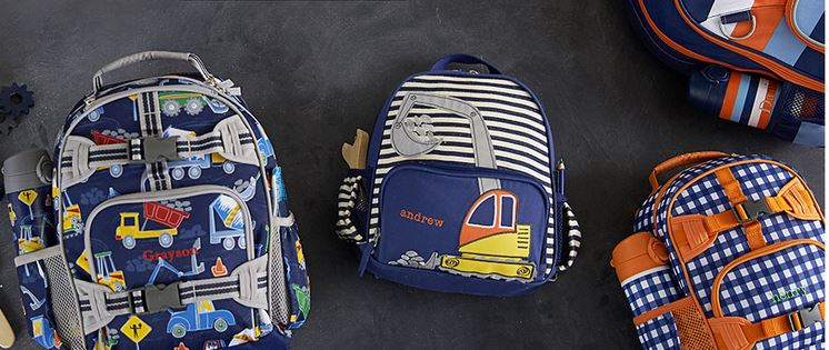 97772ed03a6 The cutest backpacks ever are on sale at Pottery Barn Kids! They have have  their first ever back to school savings event. Get 20% off backpacks