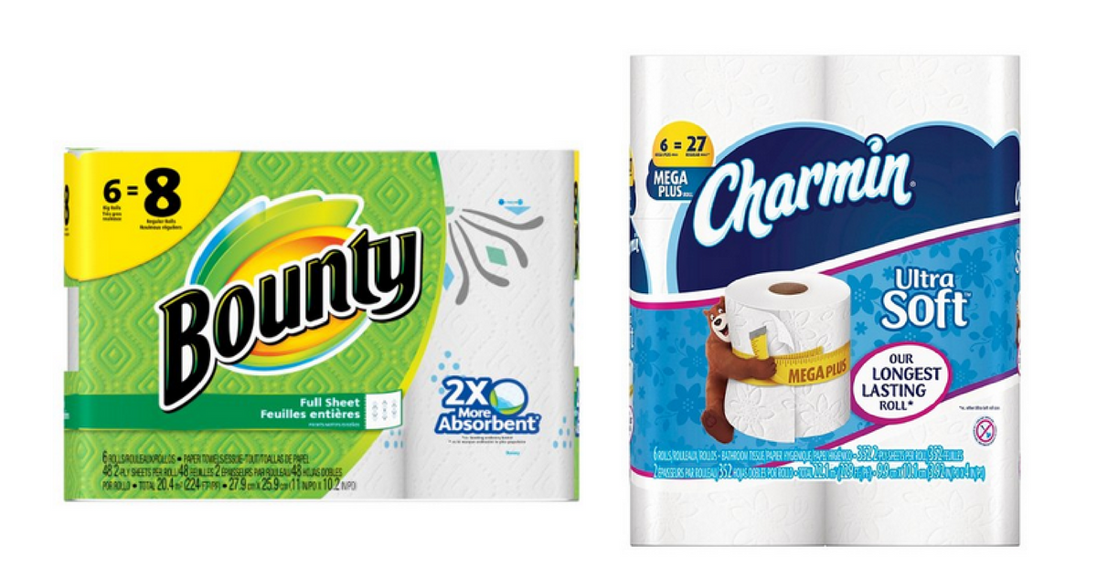 bounty and charmin coupons