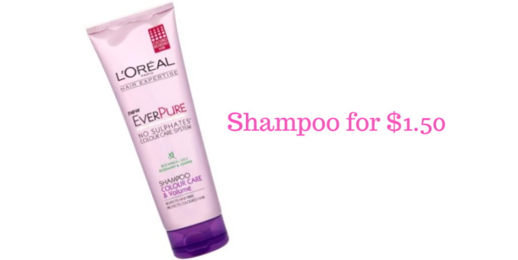 L'Oreal Coupons | $1.50 Hair Care