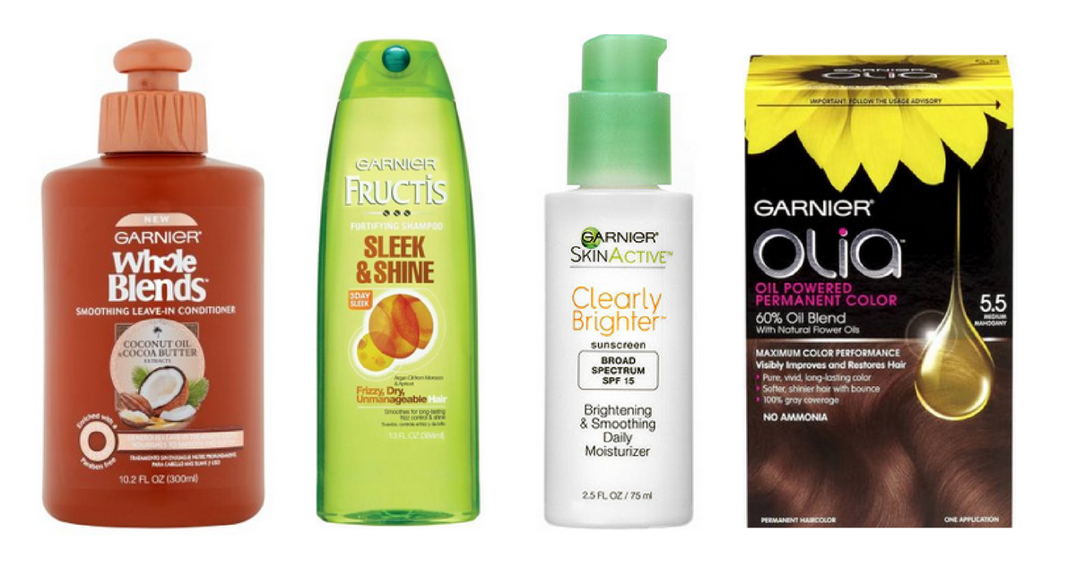 6 New Printable Garnier Coupons
