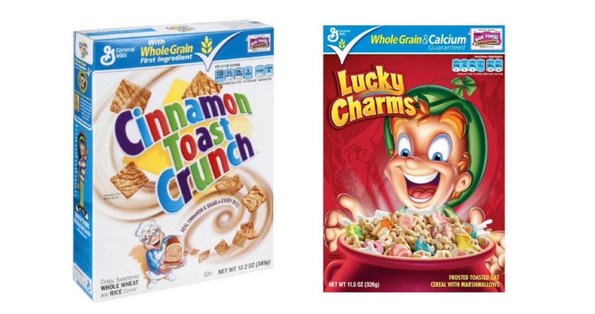 General Mills Cereal 88 162 Per Box Southern Savers