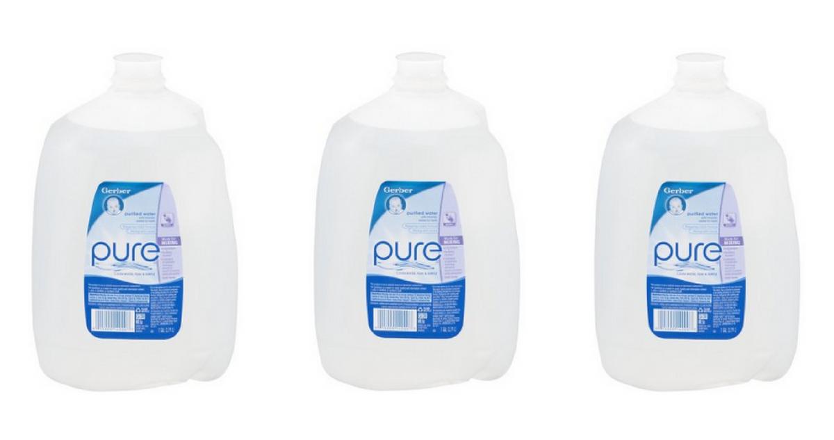 Gerber Pure Water 50 162 Per Gallon At Publix Southern Savers