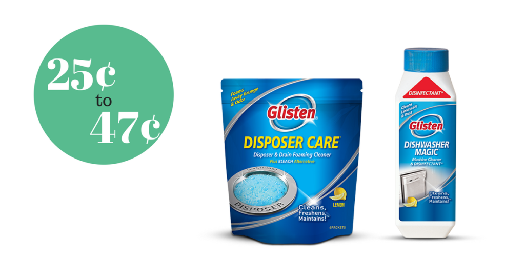 Check Out Two Great Deals On Glisten Disposer And Dishwasher Cleaner At Publix This Week If You Have Never Tried Either Product Least Need To Grab