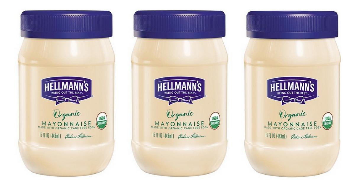 hellmann's organic mayo