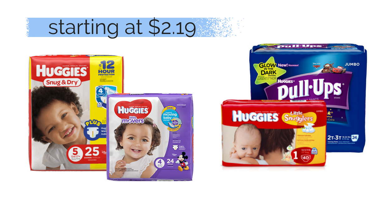 Huggies Diapers $2.19 a Pack at Kroger! :: Southern Savers