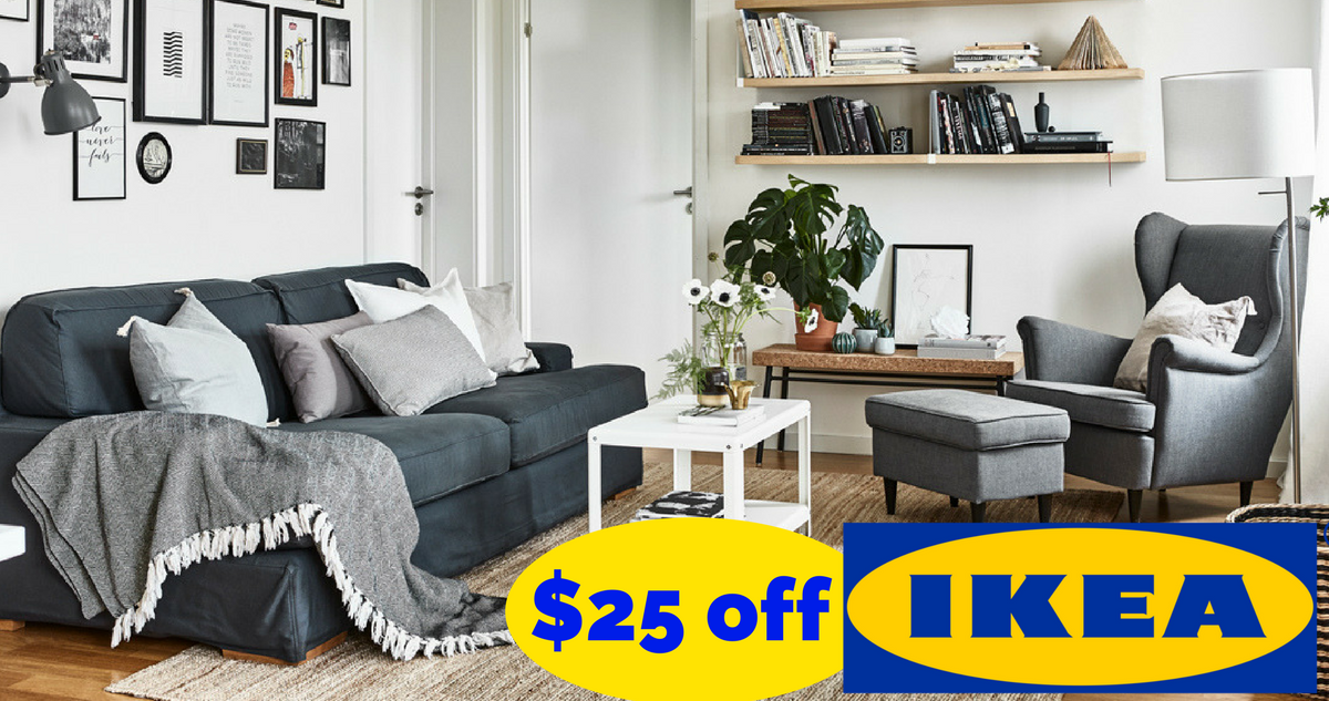 Ikea coupon 25 off 150 purchase southern savers for Coupon mobile ikea