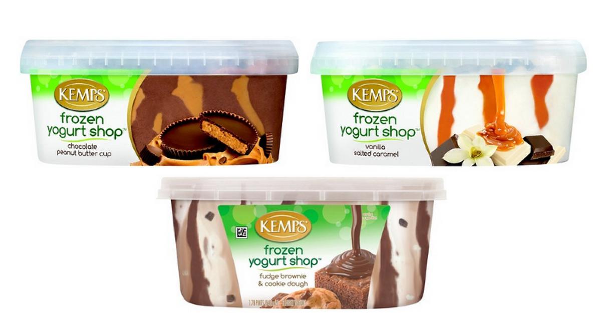 kemps frozen yogurt shop