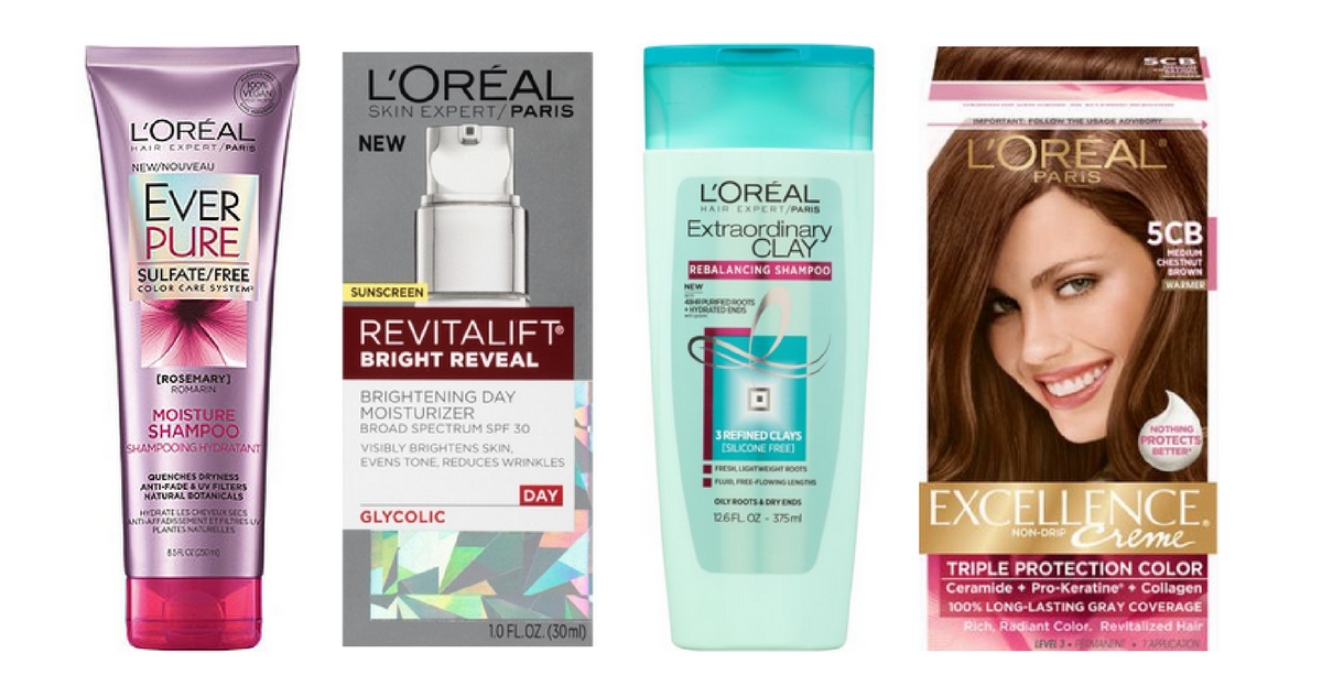 8 New L'Oreal Paris Coupons