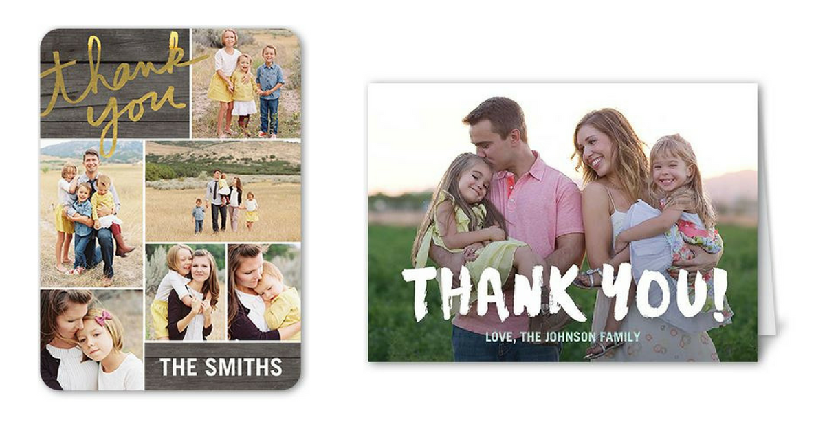 Shutterfly Coupon Code 12 Free Thank You Cards Southern Savers
