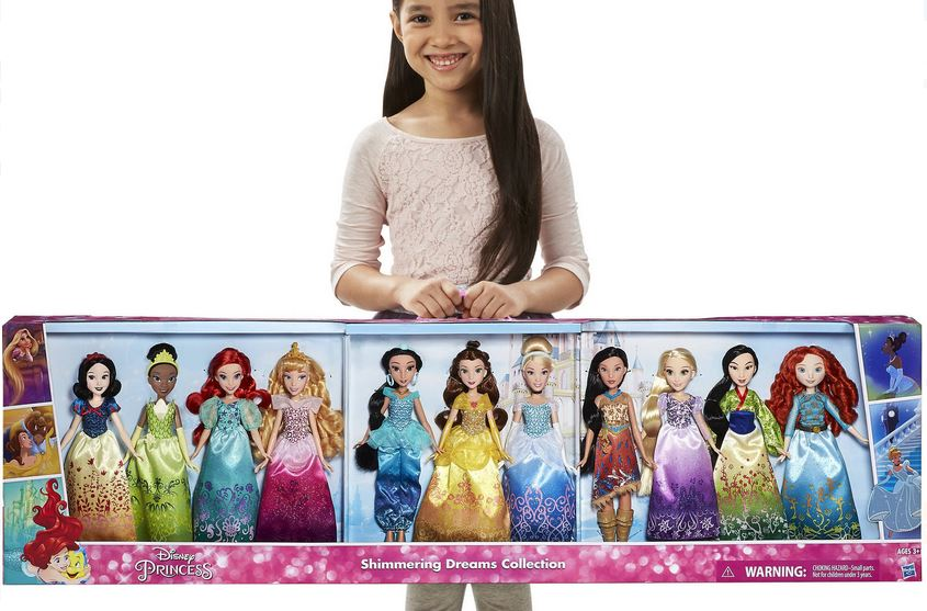 Walmart Deal Disney Princess Dolls 5 44 Per Doll