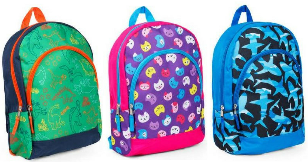Walmart Deal | Kids Backpacks for $2 47 :: Southern Savers