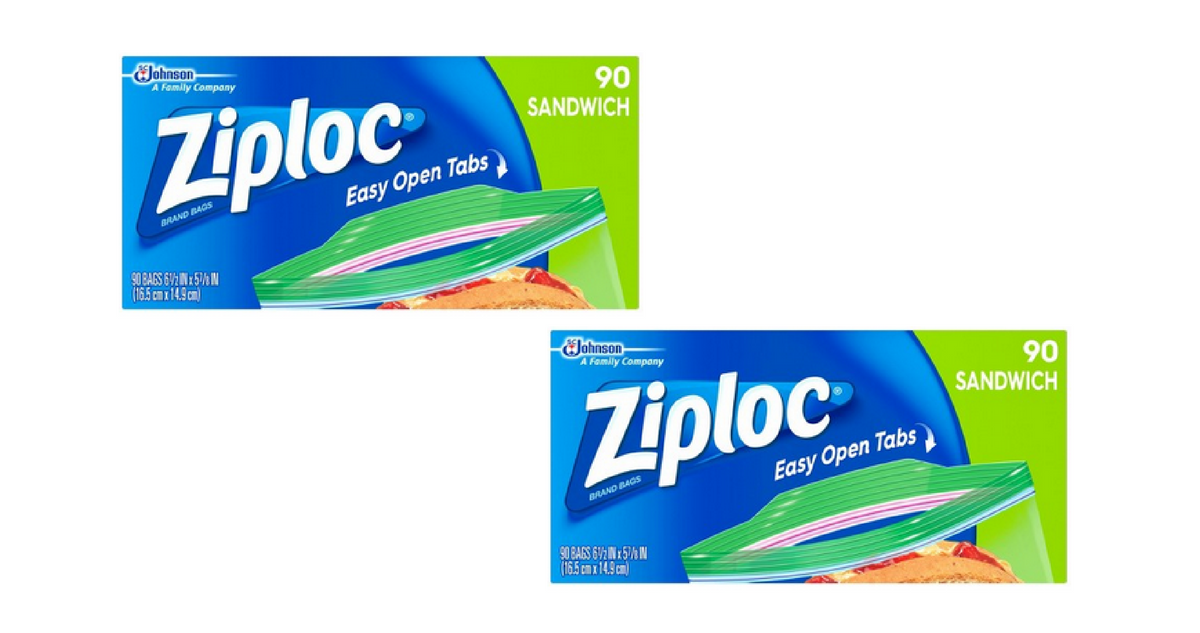 New Ziploc Coupons | Bags For $1.99 ea. :: Southern Savers