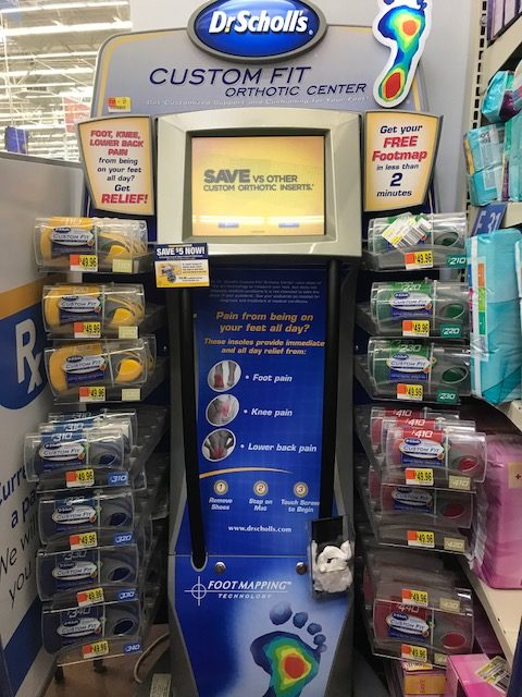 photo regarding Dr Scholls Inserts Coupons Printable identify $10 off Dr. Scholls Personalized In shape Orthotics + $50 Walmart Present