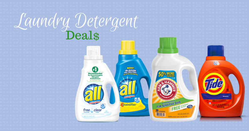 top laundry detergent deals this week