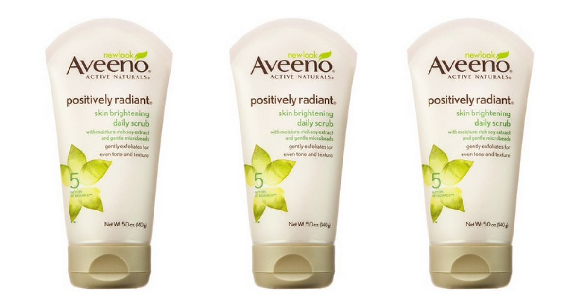 New Aveeno Coupon | Daily Scrub, $1.12 ea.