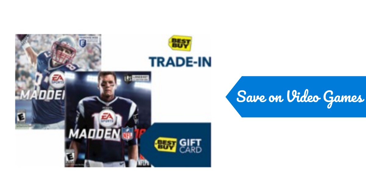 25 trade in value toward madden nfl 18 southern savers. Black Bedroom Furniture Sets. Home Design Ideas