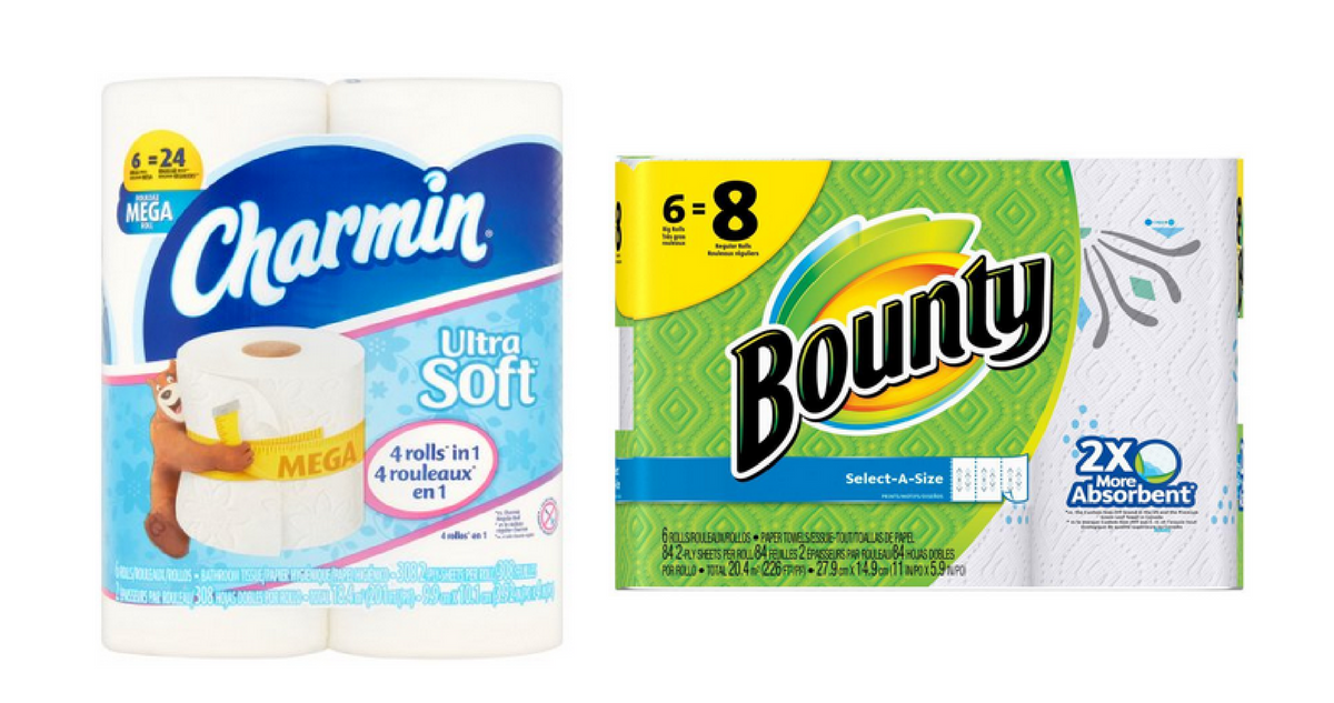 image relating to Charmin Coupons Printable known as Bounty Charmin Discount coupons $2.99 Bathtub Tissue :: Southern Savers
