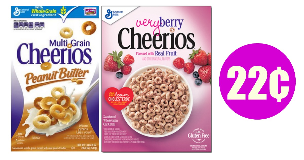 General Mills Coupons Cereal For 22 162 Southern Savers