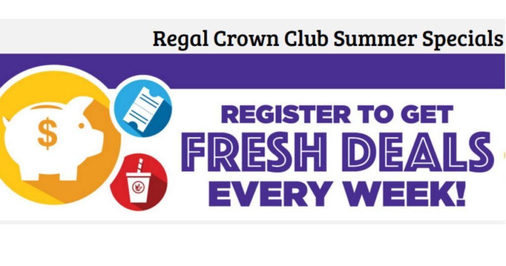 Regal Crown Club members that see multiple movies from this thrilling set of Universal pictures will receive additional rewards including extra credits and free popcorn. GET DEAL More details.