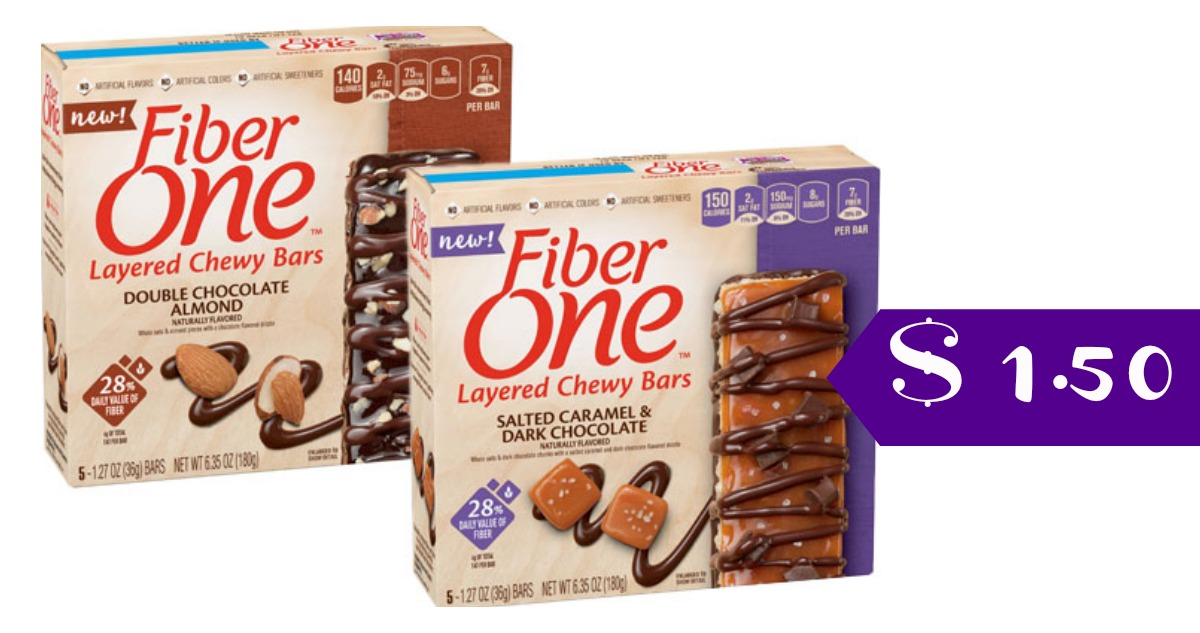 Fiber One Coupons | $1.50 Chewy Bars :: Southern Savers