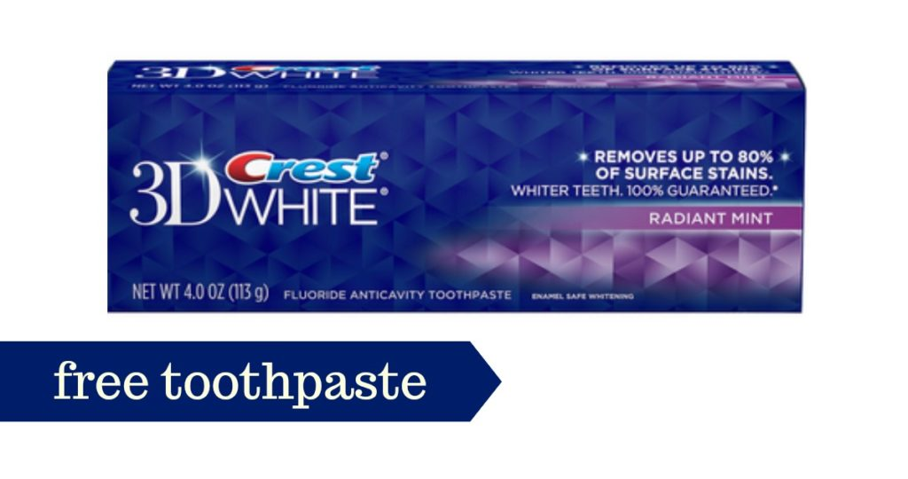 Crest toothpaste coupons printable 2018