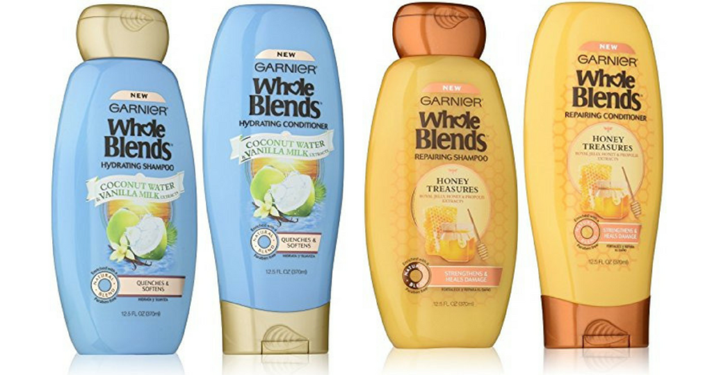 photo relating to Garnier Whole Blends Printable Coupon known as Garnier Coupon codes 50¢ Total Blends Hair Treatment :: Southern Savers