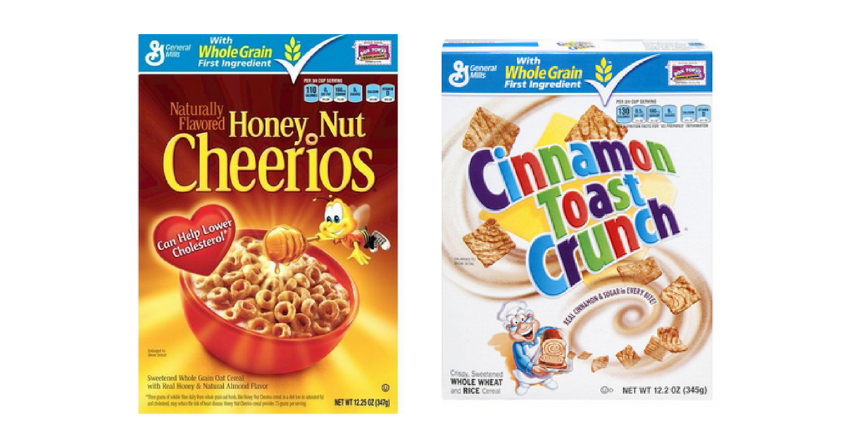 92 162 General Mills Cereal Boxes Free Milk Southern Savers