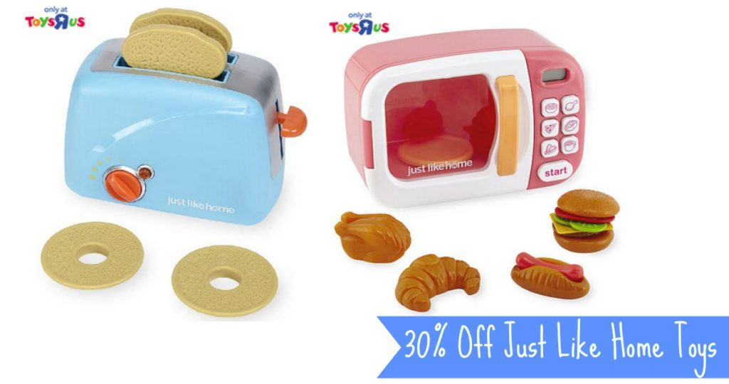 30% Off Just Like Home Toys | $6.89 Play Food :: Southern Savers