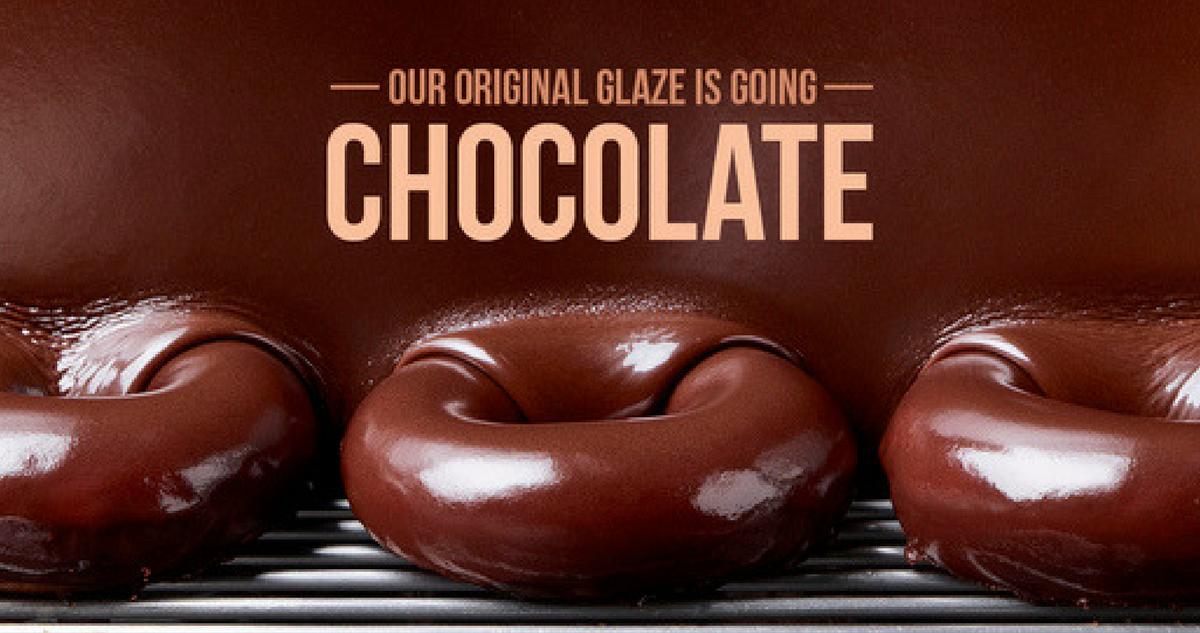chocolate glazed