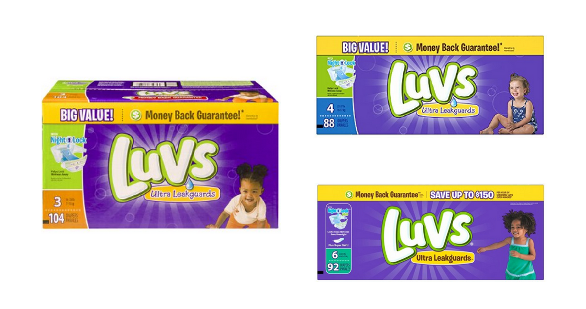 image relating to Printable Luvs Coupons known as Luvs Diapers, As Very low As 10¢ For each Diaper :: Southern Savers