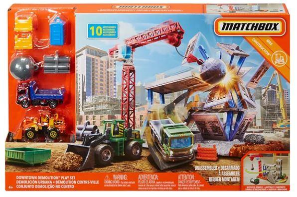 matchbox demolition set