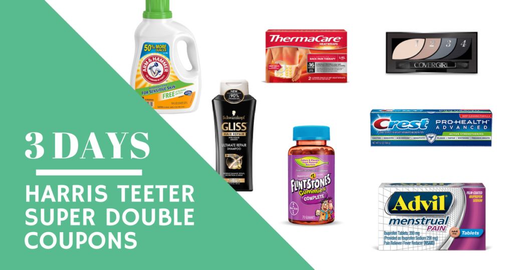 New Printable Coupons For Harris Teeter Super Doubles